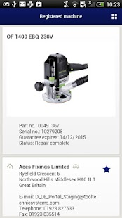Festool - screenshot thumbnail