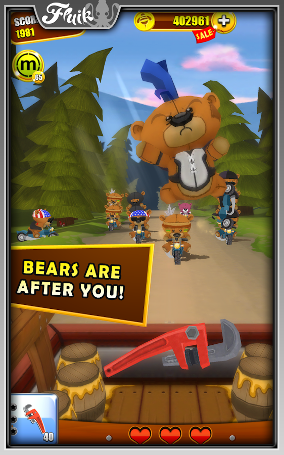 Grumpy Bears- screenshot