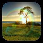 Sunlight Rainbow LWP icon