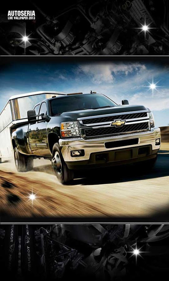 Chevrolet 2013 Live Wallpaper - screenshot