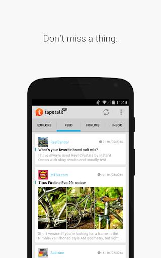 Tapatalk Pro - 100,000+ Forums  screenshots 17
