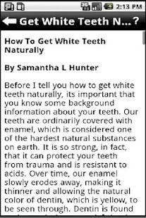 Teeth Whitening - screenshot thumbnail