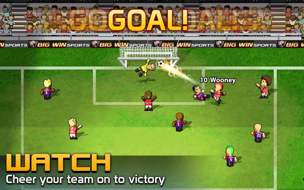BIG WIN Soccer (football) screenshot #3