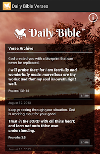 Daily Bible Verses- screenshot thumbnail