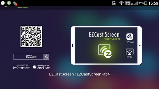 EZCast Screen with AirPlay