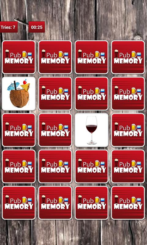Pub Memory Game PRO - screenshot