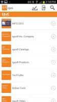 Screenshot of igus SalesKit from Mediafly