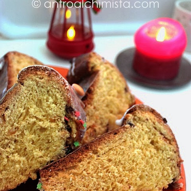 Panettone Cake—Bread Machine Method