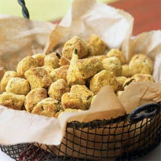 Oven-Fried Okra.