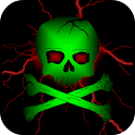 Toxic Skull Live Wallpaper icon