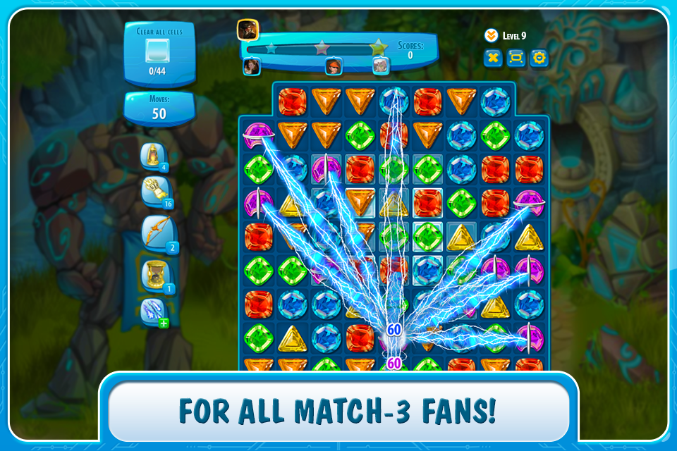 Atlantis Adventure: match - 3- screenshot