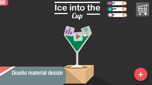 Ice into the Cup