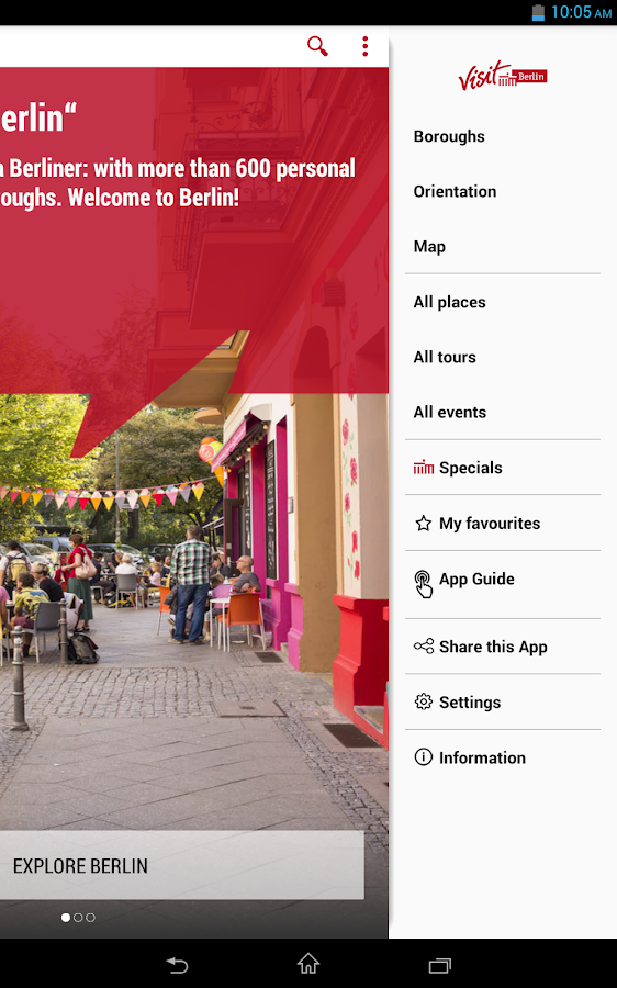 Going Local Berlin: captura de pantalla