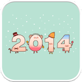 Happy2014 go launcher theme