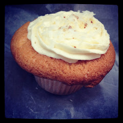 Almond Coconut Cupcake