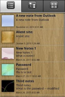 eMobile Note with Outlook Sync - screenshot thumbnail