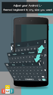 ai.type Android L keyboard|玩生產應用App免費|玩APPs