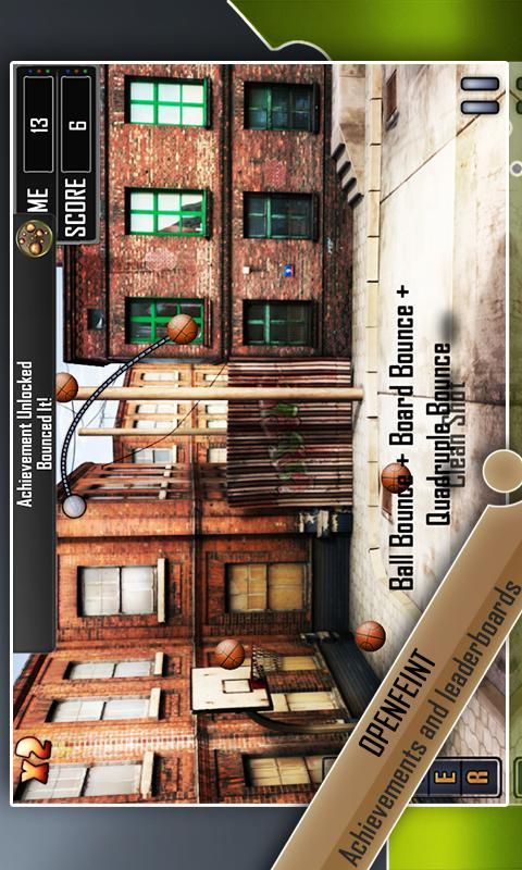 Slam Dunk Basketball Lite- screenshot