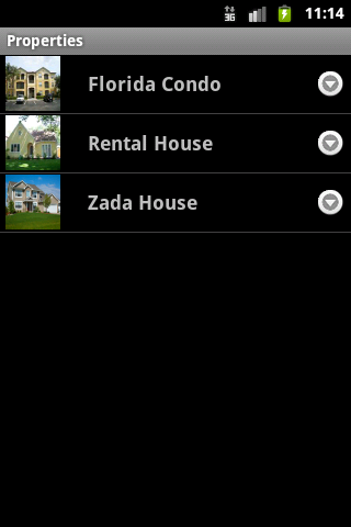 HomeZada Mobile - screenshot