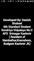 Screenshot of My Kashmir(موج کشیر)