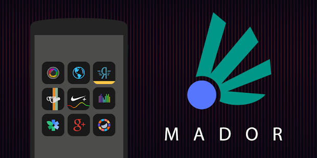 Mador - Icon Pack Screenshot