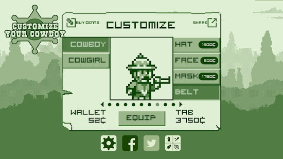 2-bit Cowboy Screenshot