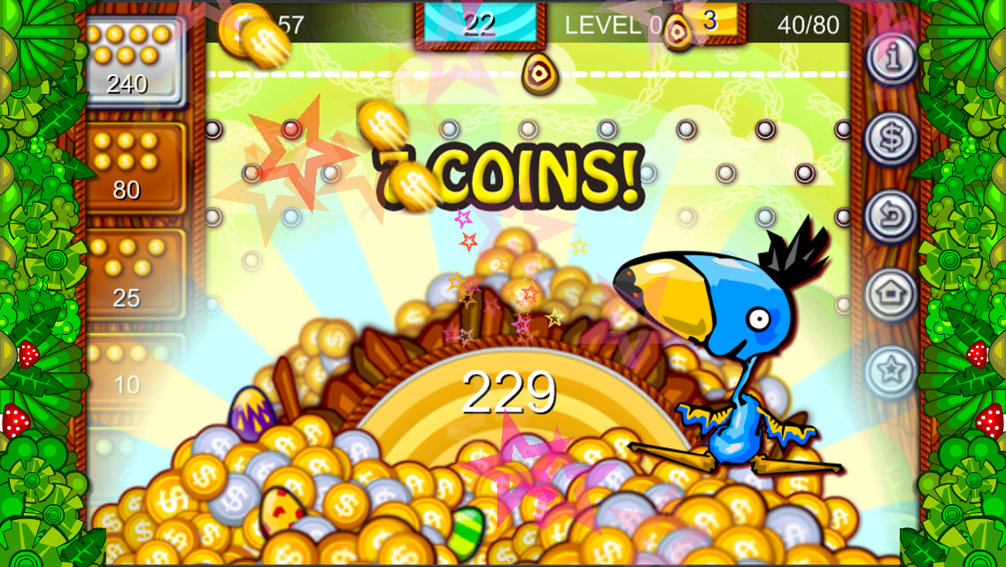 Coin Dropper Dodo Bird - screenshot