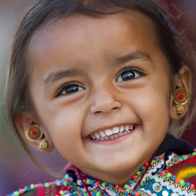 Ahir Girl by Mohan Matang - Babies & Children Child Portraits ( Travel, People, Lifestyle, Culture )