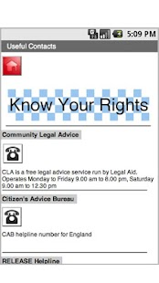 Know Your Rights UK - screenshot thumbnail