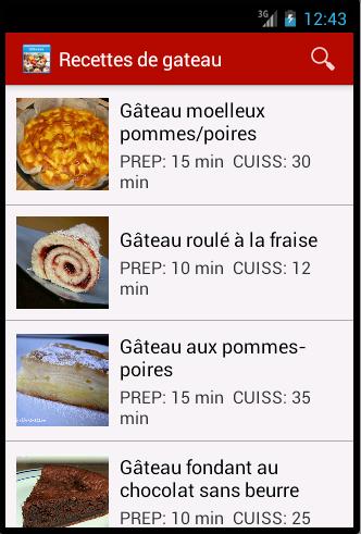 Recettes De Gâteau