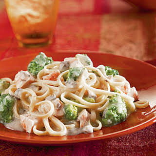 Campbell's® Chicken & Broccoli Alfredo.