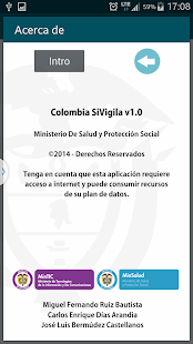 ColombiaSIVigila- screenshot thumbnail