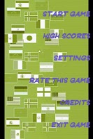Screenshot of Memory Flag Game