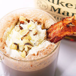 Bacon, Bourbon, and Hazelnut Hot Chocolate.