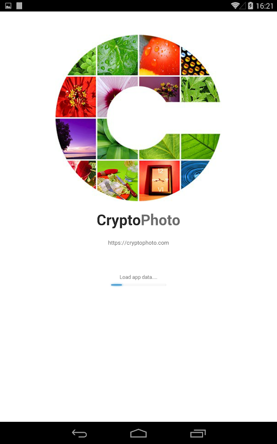 CryptoPhoto- screenshot