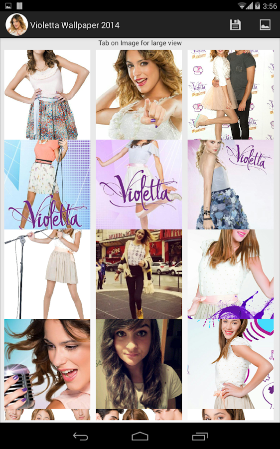 Violetta Wallpaper 2014 - Android Apps on Google Play