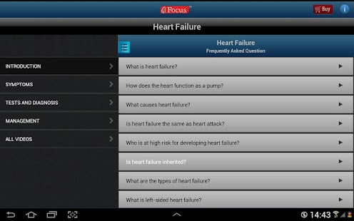 FAQs in Heart Failure- screenshot thumbnail