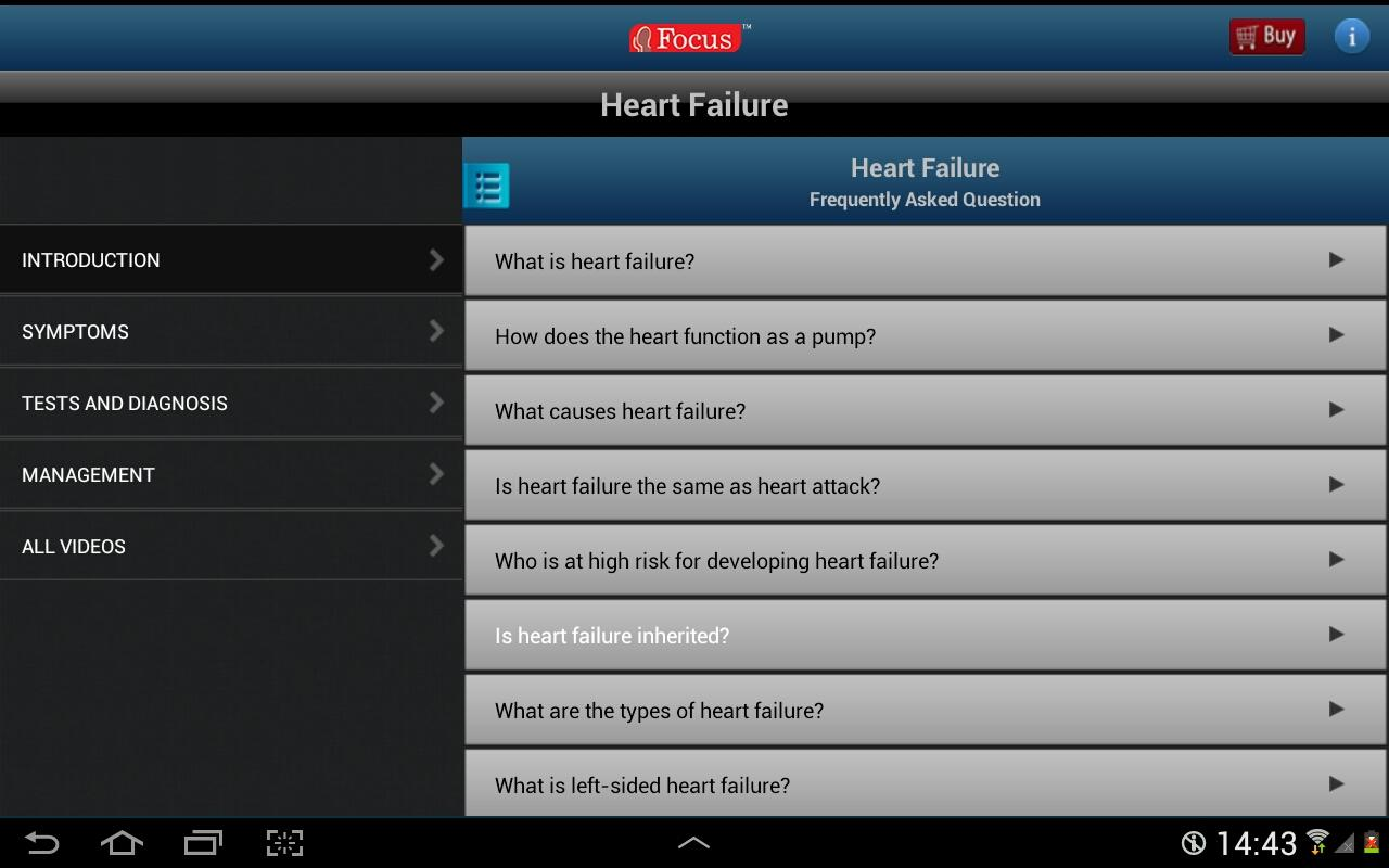 FAQs in Heart Failure- screenshot