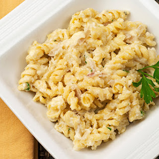 Rotini with Cauliflower-Blue Cheese Sauce Recipe