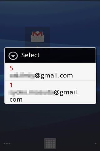 GmailUnreadCounter Widget 2 - screenshot