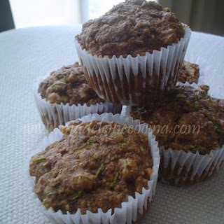 Whole Wheat Zucchini Muffins.