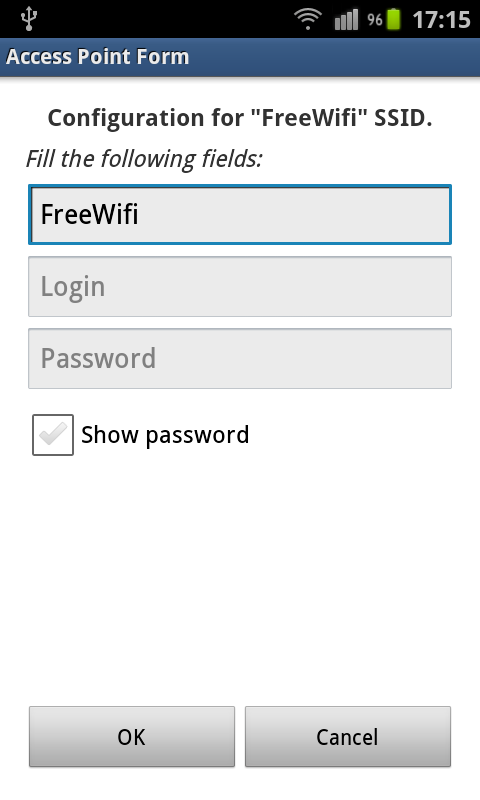 WiFi AutoConnect- screenshot