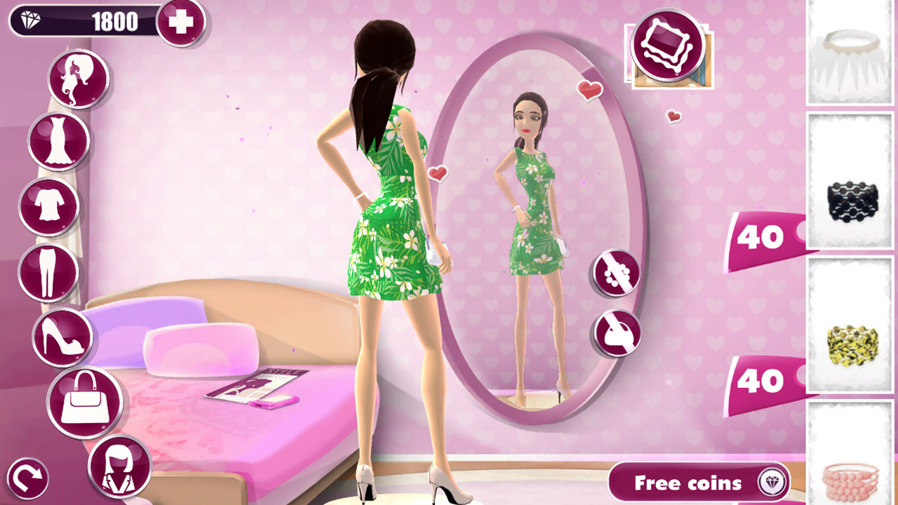 Dress up game for teen girls android apps on google play Fashion style games online