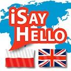 iSayHello Polish - English (Translator) icon