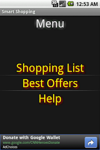 Smart Shopping screenshot 0