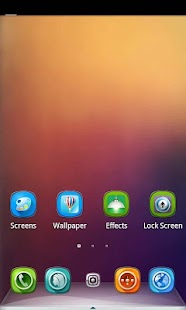 Colorful Turbo Launcher Theme - screenshot thumbnail