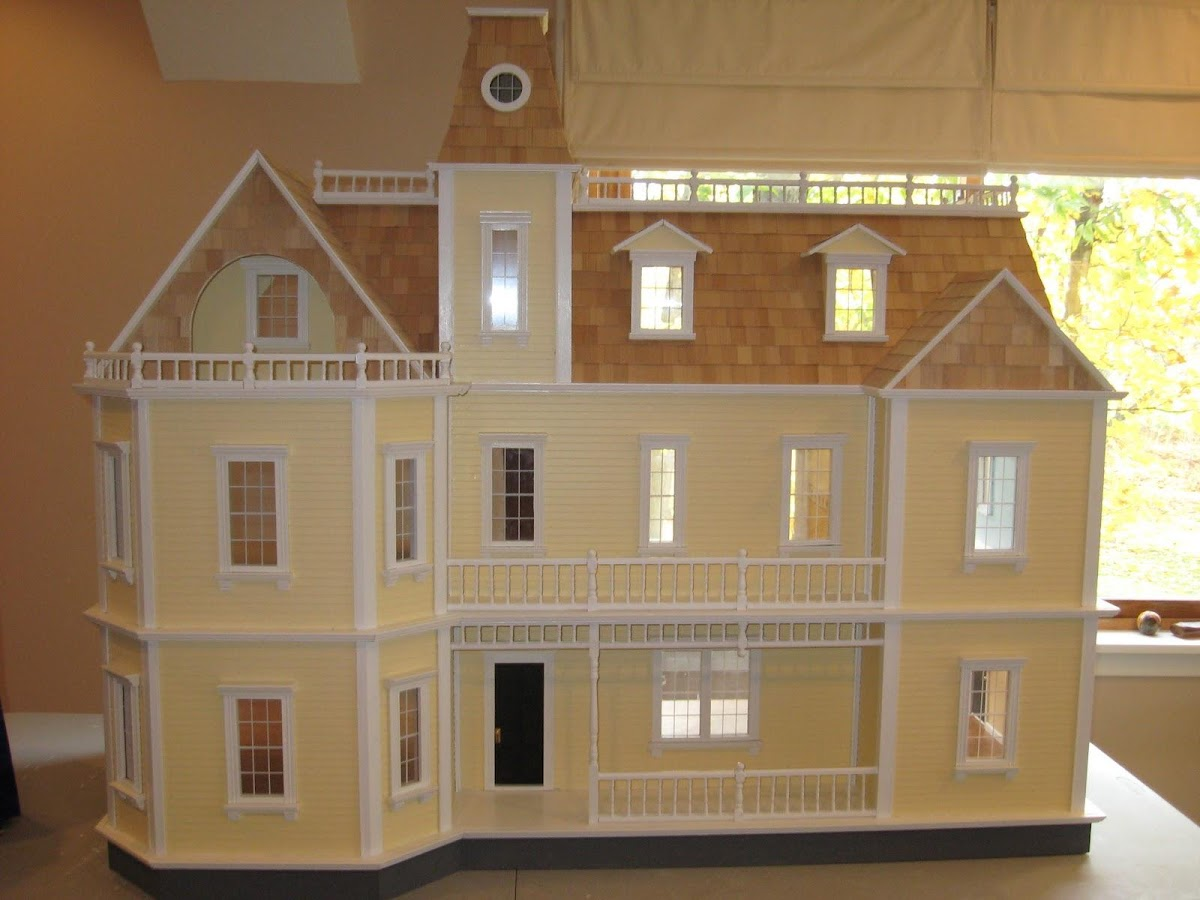 Images of doll houses - Doll Houses Puzzle Screenshot