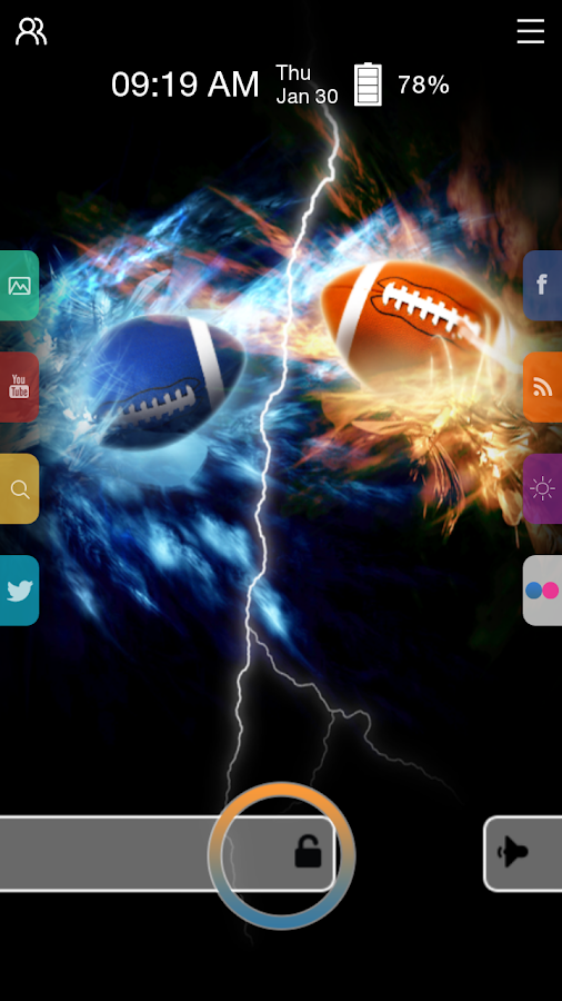 Football - Start Theme - screenshot