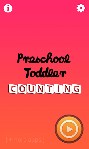 Counting Preschool Toddler