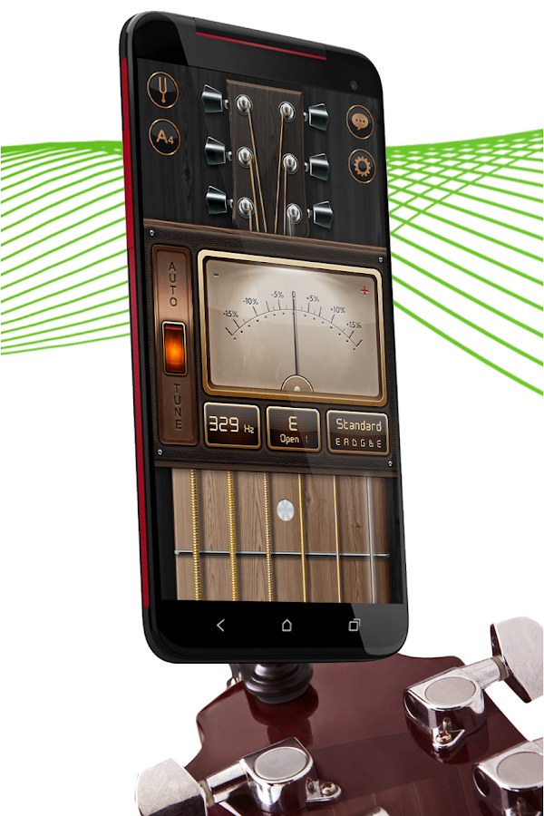 Chromatic Guitar Tuner Free: Ukulele, Bass, Violin- screenshot